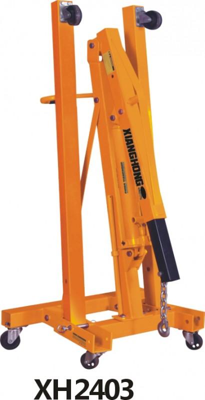 2T折叠液压吊机XH2403